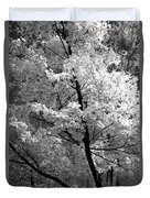 Infrared Tree Pic Duvet Cover