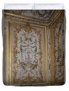Inside Chantilly Castle France Duvet Cover
