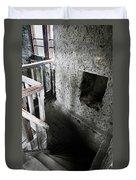Inside The Castle Frankenstein Duvet Cover