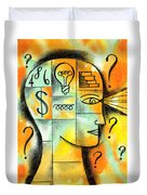 Knowledge And Idea Duvet Cover