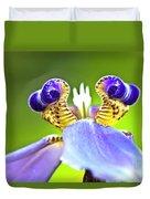 Iris Flower Duvet Cover by Heiko Koehrer-Wagner