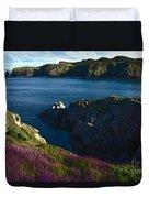 Irish Seascape Duvet Cover