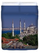 Istanbul's Blue Mosque Duvet Cover