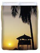 Ixtapa Sunset Duvet Cover