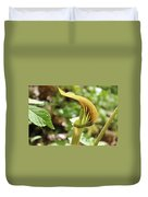 Jack-in-the-pulpit Duvet Cover