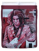 Jack White Duvet Cover