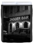 Jagger Bar In Ufa Russia Duvet Cover