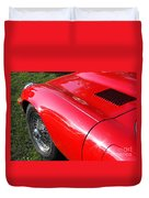 Jaguar E-type Duvet Cover