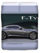 Jaguar F Type Duvet Cover