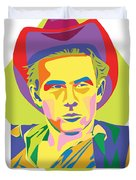 James Dean Duvet Cover