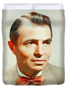 James Mason, Vintage Movie Star Duvet Cover