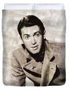 James Stewart Hollywood Actor Duvet Cover