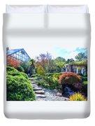 Japanese Garden 3 Duvet Cover