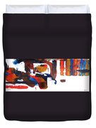 Jazz Rodeo Duvet Cover