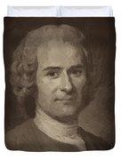 Jean Jacques Rousseau Duvet Cover