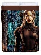 Jennifer Lawrence Collection Duvet Cover