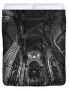 Jerez De La Frontera Cathedral Cadiz Spain Duvet Cover