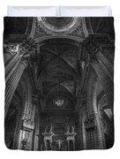 Jerez De La Frontera Cathedral Dome From Inside Cadiz Spain Duvet Cover