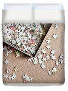 Jigsaw Puzzle Duvet Cover
