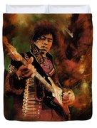 Jimi Hendrix 01 Duvet Cover