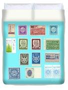 Jnf Stamps  Duvet Cover