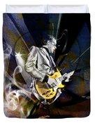 Joe Bonamassa Art Duvet Cover