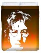 John Lennon The Legend Duvet Cover