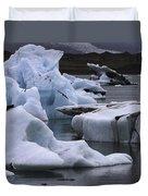 Jokulsarlon Glacier Lagoon Iceland 2431 Duvet Cover