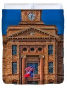 Jones County Courthouse Duvet Cover