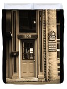 Jonesborough Tennessee - Main Street Duvet Cover