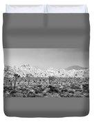 Joshua Tree Panoramic Duvet Cover