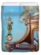 Jugglernautica Duvet Cover by Patrick Anthony Pierson