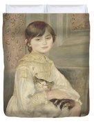 Julie Manet Duvet Cover