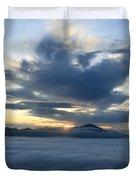 Jungle Sunrise Duvet Cover