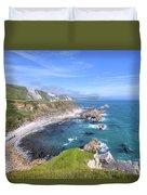 Jurassic Coast - England Duvet Cover
