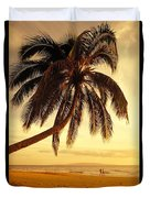 Kamaole Beach Duvet Cover
