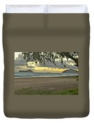 Kaohikapu Island Sunrise Duvet Cover