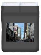 Karney Street San Francisco  Duvet Cover