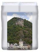 Katz Castle, Loreleystadt Duvet Cover