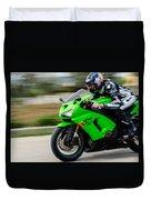 Kawasaki Ninja Duvet Cover