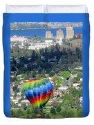 Kelowna Ballooning 1 Duvet Cover