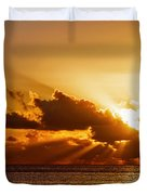 Key West Sunrise 21 Duvet Cover