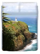Kilauea Lighthouse Duvet Cover