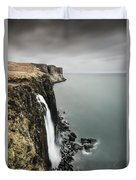 Kilt Rock Waterfall - Isle Of Skye Duvet Cover