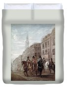 King Charles II Of England Duvet Cover