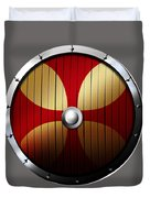 Knights Templar Shield Duvet Cover