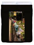 Knit Fence Protectors Duvet Cover