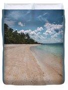 Koh Talu Beach Duvet Cover