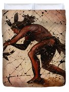 Kokopelli The Flute Player  Duvet Cover