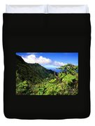 Koolau Summit Trail Duvet Cover